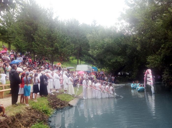 Corjeuti 1 Water Baptism in Corjeuti (Moldova)
