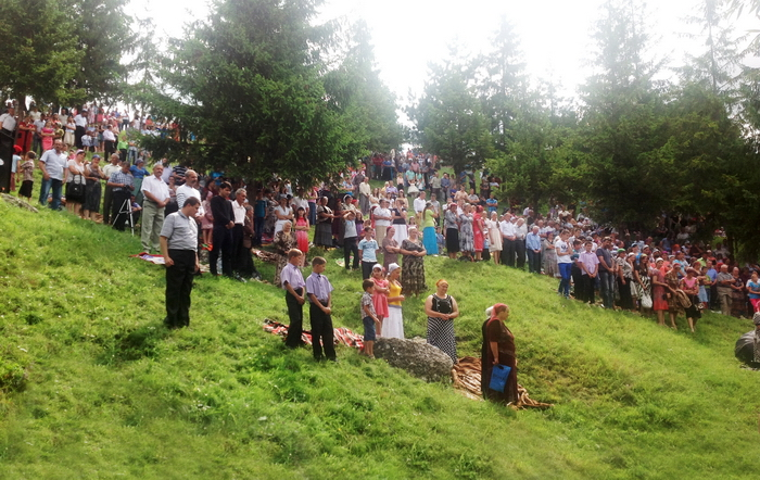 Corjeuti 2 Water Baptism in Corjeuti (Moldova)