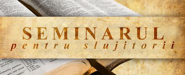 banner rom Seminarul pentru slujitorii