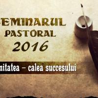 Seminarul Pastoral 2016